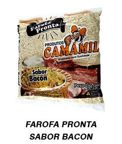 FAROFA PRONTA SABOR BACON